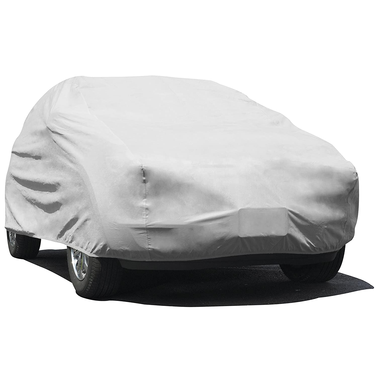 "Budge UB-3 Lite SUV Cover Indoor L x 68"" W x 67.5"" H Dustproof UV Resistant Fits Full Size 229"", Gray"
