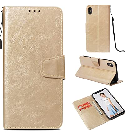 superior quality 3e7ef bbe10 Amazon.com: AICEDA , iPhone 9 Plus Case Wallet Leather, iPhone 9 ...