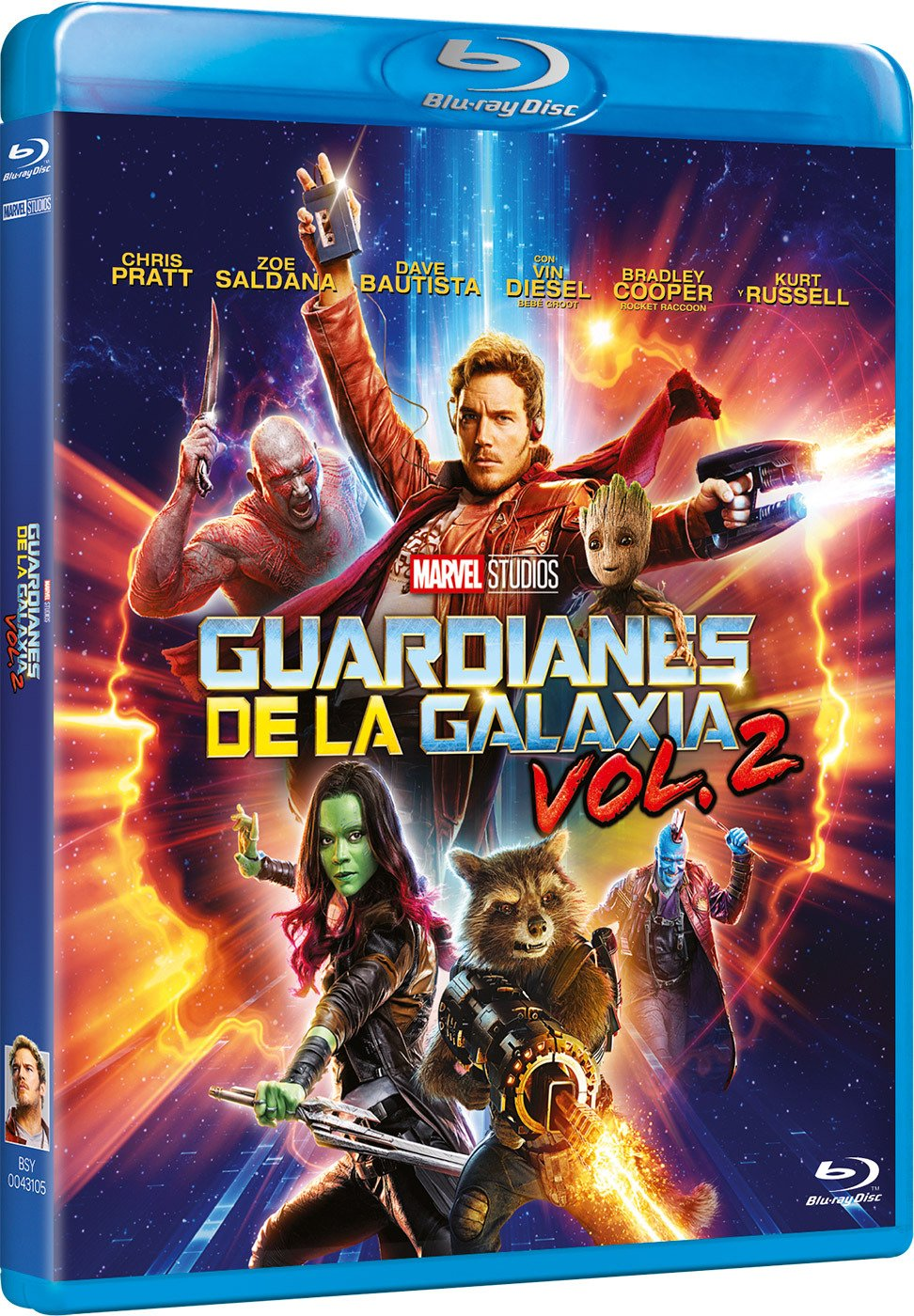 Guardianes De La Galaxia 2 [Blu-ray]: Amazon.es: Chris Pratt, Zoe Saldana, Dave Bautista, James Gunn, Chris Pratt, Zoe Saldana: Cine y Series TV
