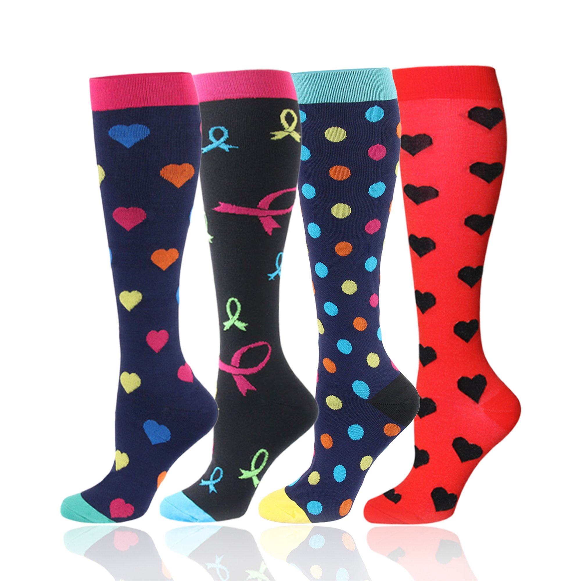 Compression Socks for Men and Women - Best for Running, Athletic, Nurse, Travel