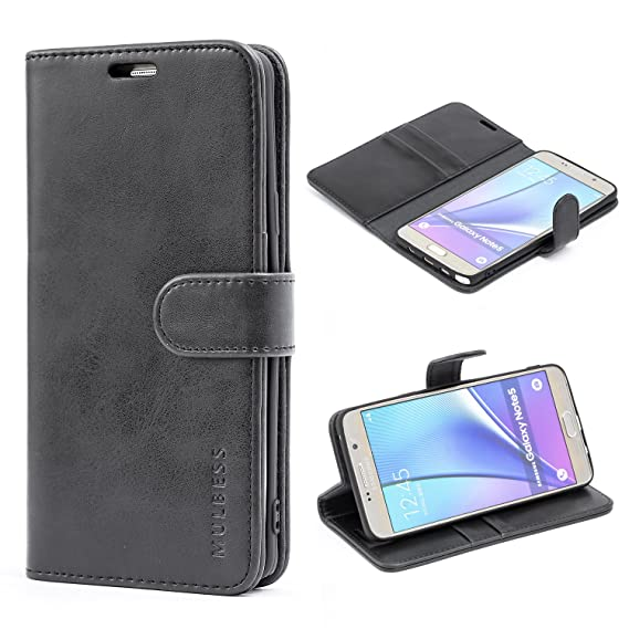 a7bcc93ccb72ea Image Unavailable. Image not available for. Color: Samsung Galaxy Note 5  Case,Mulbess Leather ...