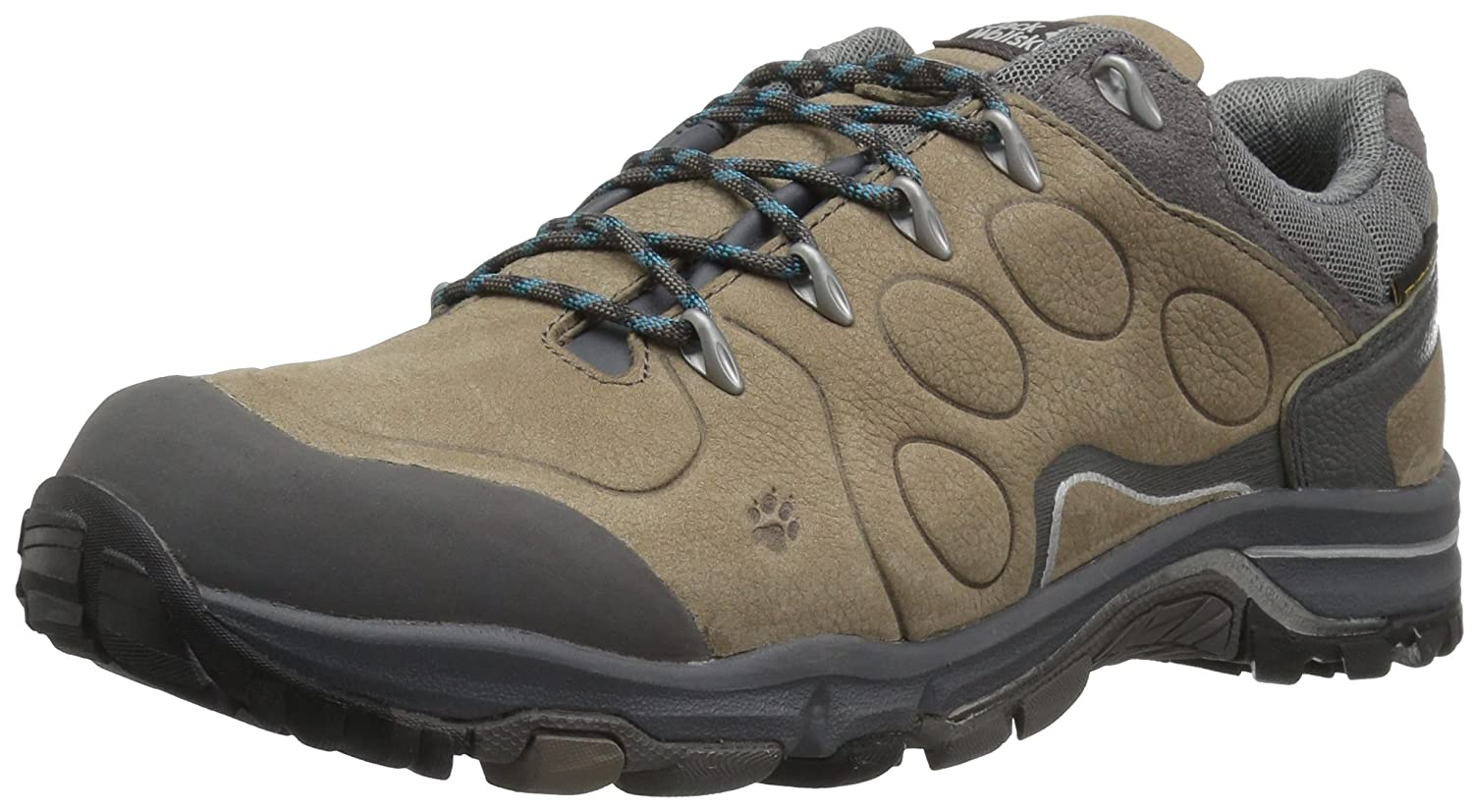 Jack Wolfskin Women's Altiplano Prime Texapore Low-W Hiking Boot B01MZZWRVM 5 D US|Siltstone