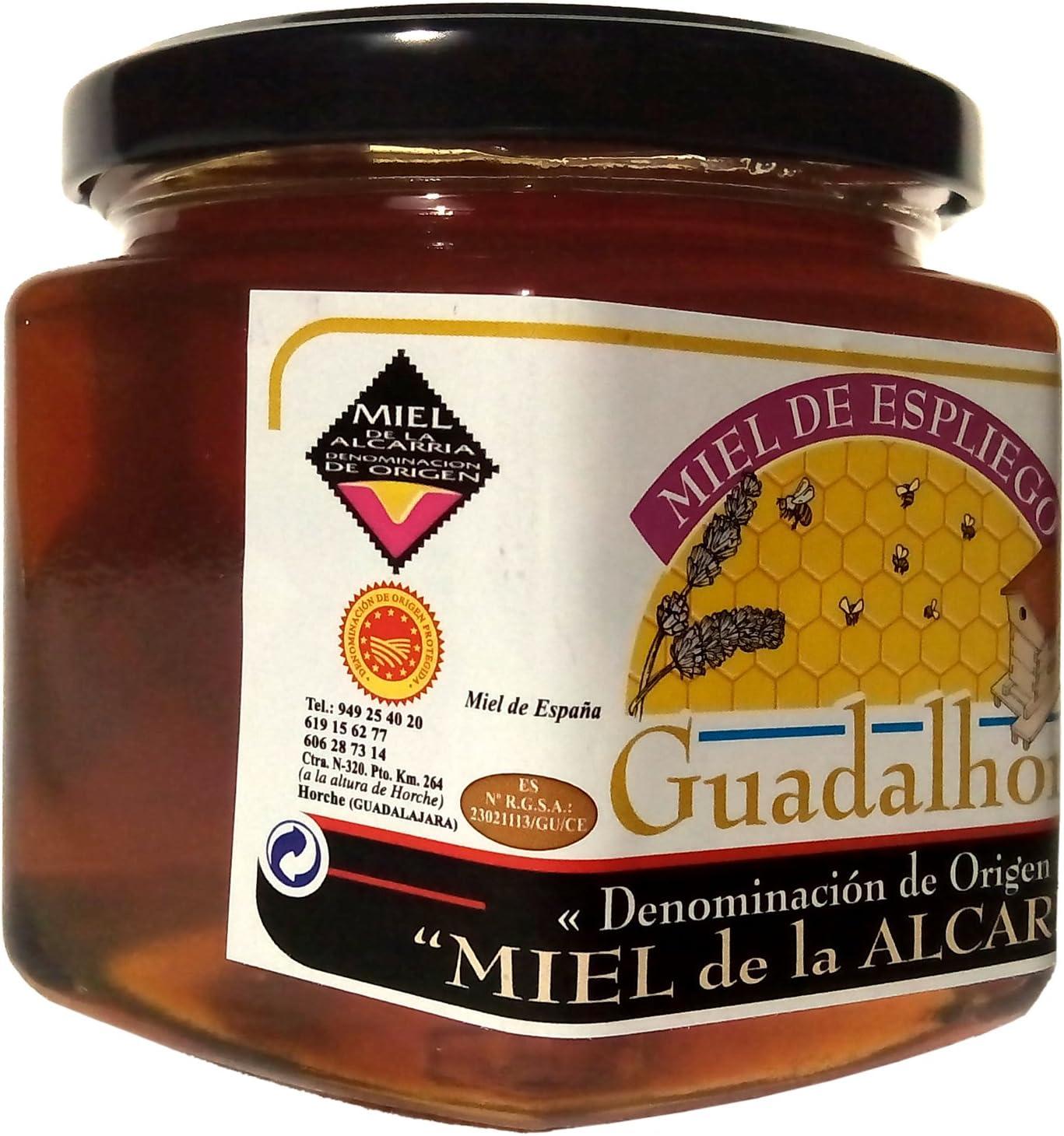 Miel natural Espliego (lavanda). PREMIO GRAN SELECCIÓN CASTILLA LA MANCHA DE CALIDAD DIFERENCIADA 500gr Miel pura de abeja de Gran Calidad: Amazon.es: Alimentación y bebidas
