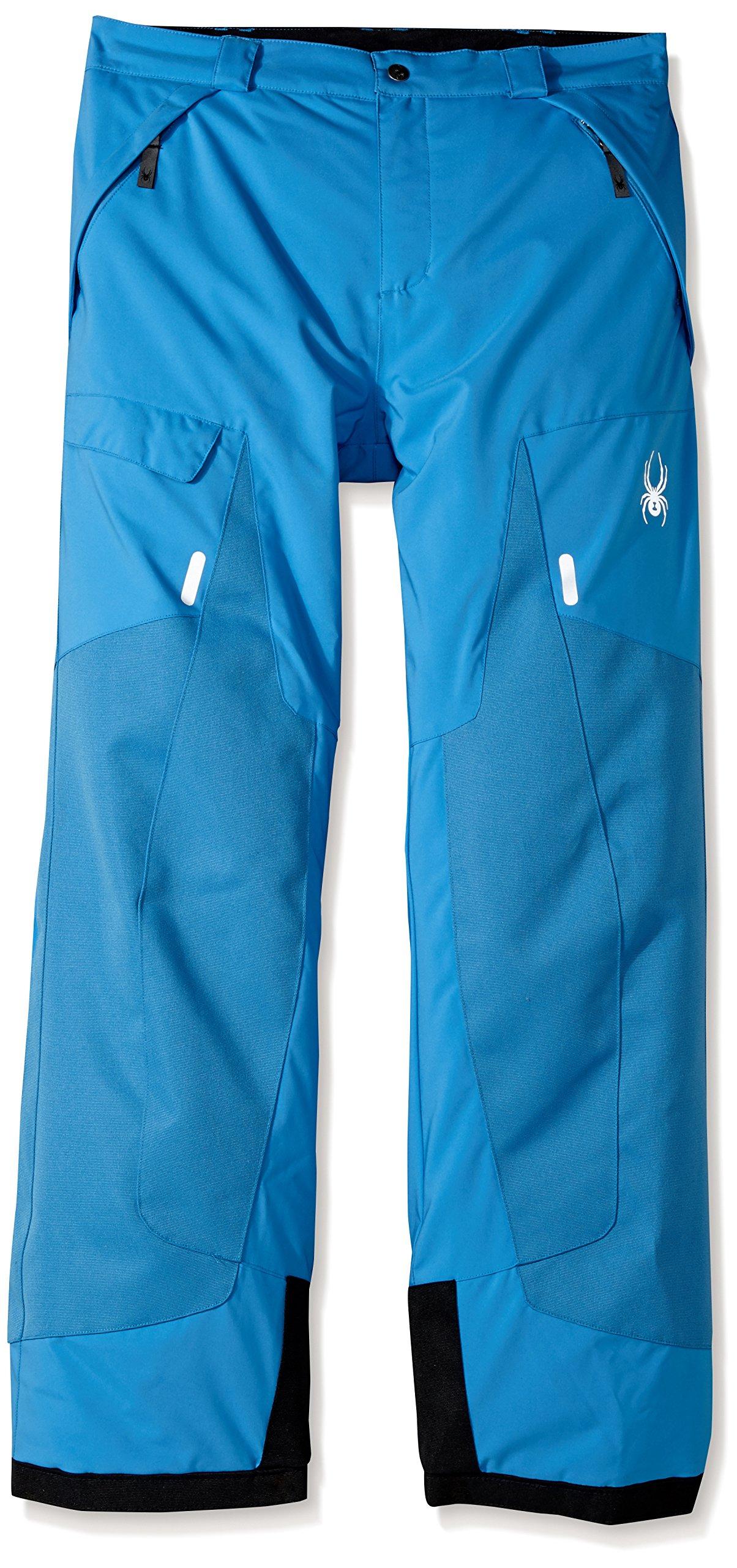 Spyder Boy's Action Ski Pant, French Blue, Size 16 by Spyder