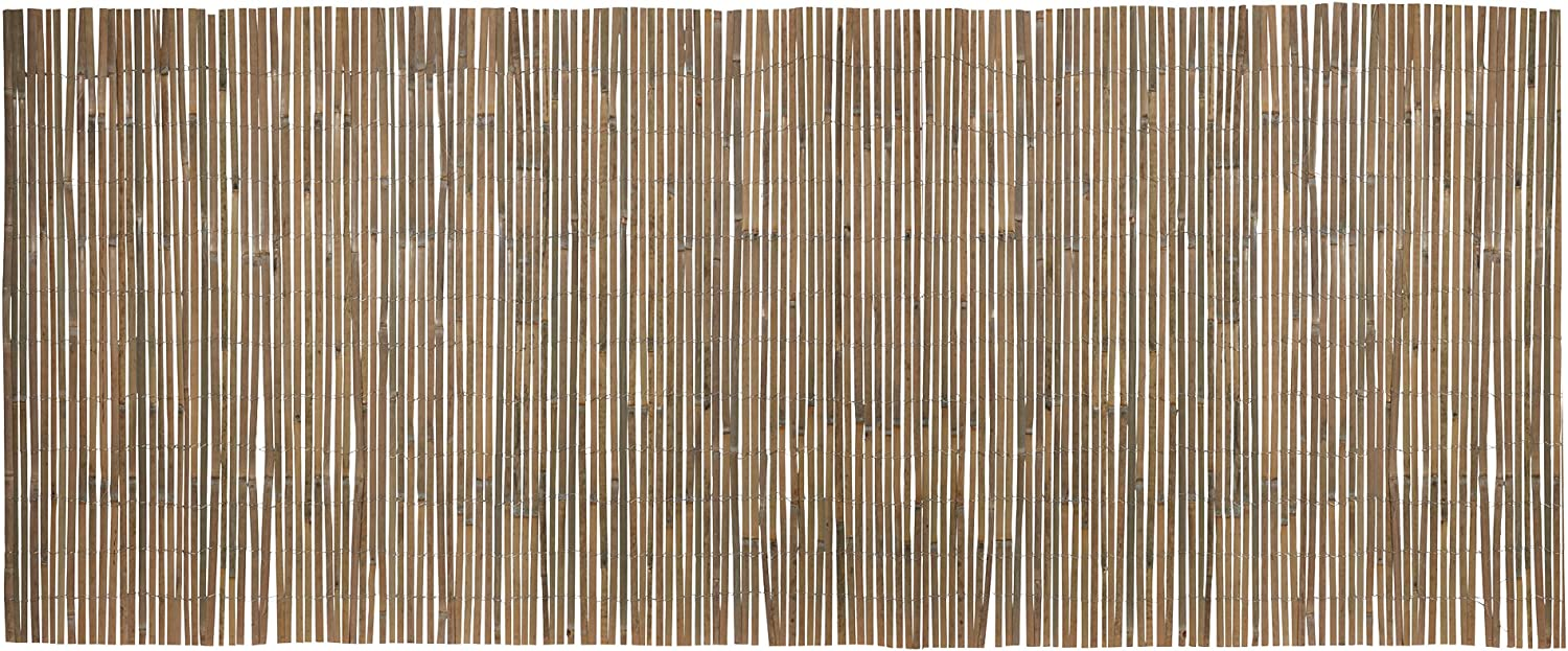 Privacy Shield Divider 1.5 X 4M Terrace Waltons Bamboo Slat Fencing Screening for Gardens Patio