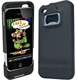 Be A HeadCase Hard Case and Bottle Opener for iPhone 4 AT&T and Verizon - Black