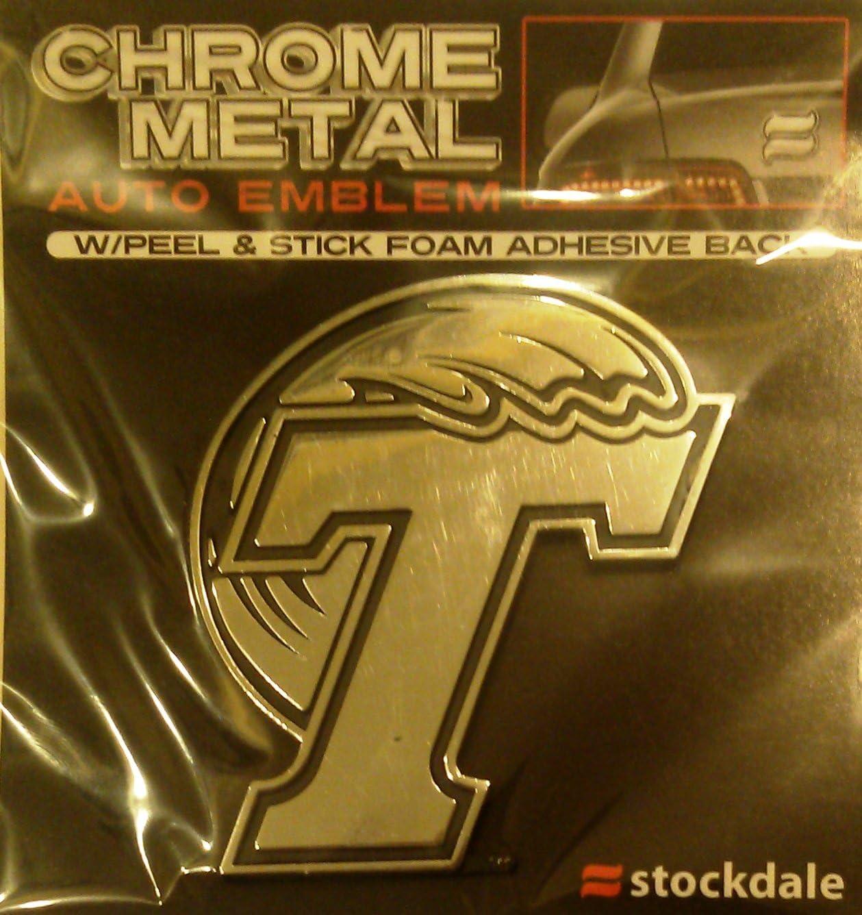 Tulane Pelicans SD Ultra Premium Metal Chrome Car Auto Emblem University of