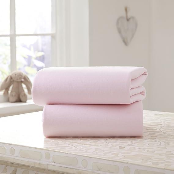 Sábana bajera de algodón ajustable para cochecito (2 unidades ...