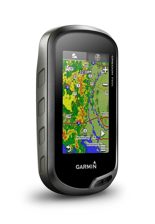 vorinstallierte TopoActive Europakarte Aktivit/ätsprofile Geocaching Live Garmin Oregon 750t GPS-Handger/ät