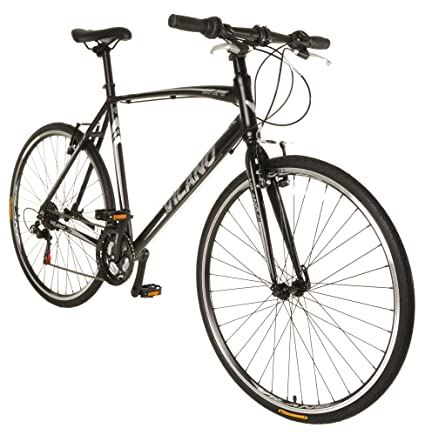 68607530303 Image Unavailable. Image not available for. Color  Vilano Diverse 1.0 Performance  Hybrid Bike 21 Speed Shimano Road Bike 700c
