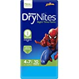 Huggies DryNites Pyjama Pants, Boys, Size 4-7 Years (10 Pack)