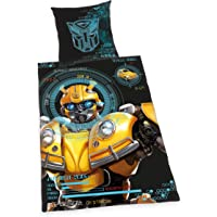 Herding Transformers Bedding Set, Reversible Motif, Duvet Cover 135 x 200 cm, Pillow Case 80 x 80 cm, Cotton/Renforcé
