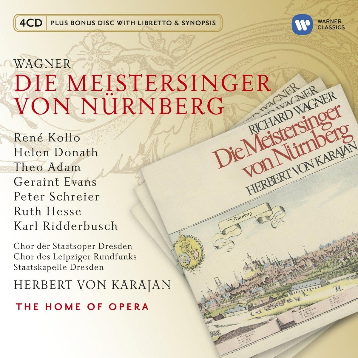 Die Meistersinger Von Nürnberg - Karajan, Kollo, Donath, Richard Wagner:  Amazon.de: Musik