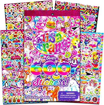 Lisa Frank Stickers Collectors Set 200 Count by Lisa Frank