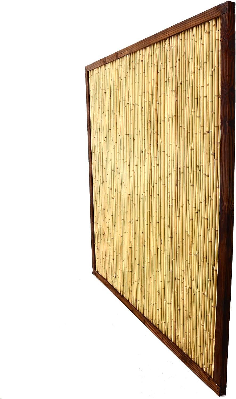 Bambus Discount Com Bambuswand Kohsamui Klassik 180x180cm Dunkler