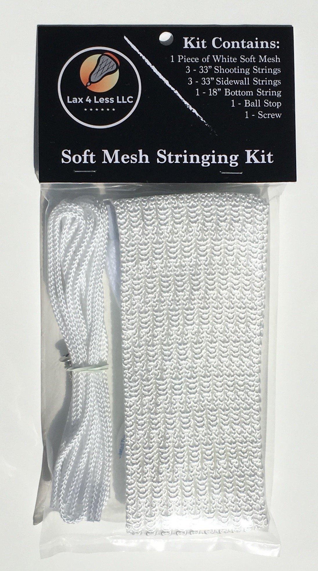 Lax 4 Less Soft Mesh Stringing Kit