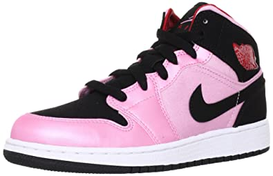 Basket Nike Air Jordan 1 Mid Junior - Ref. 555112-608 - 38 1