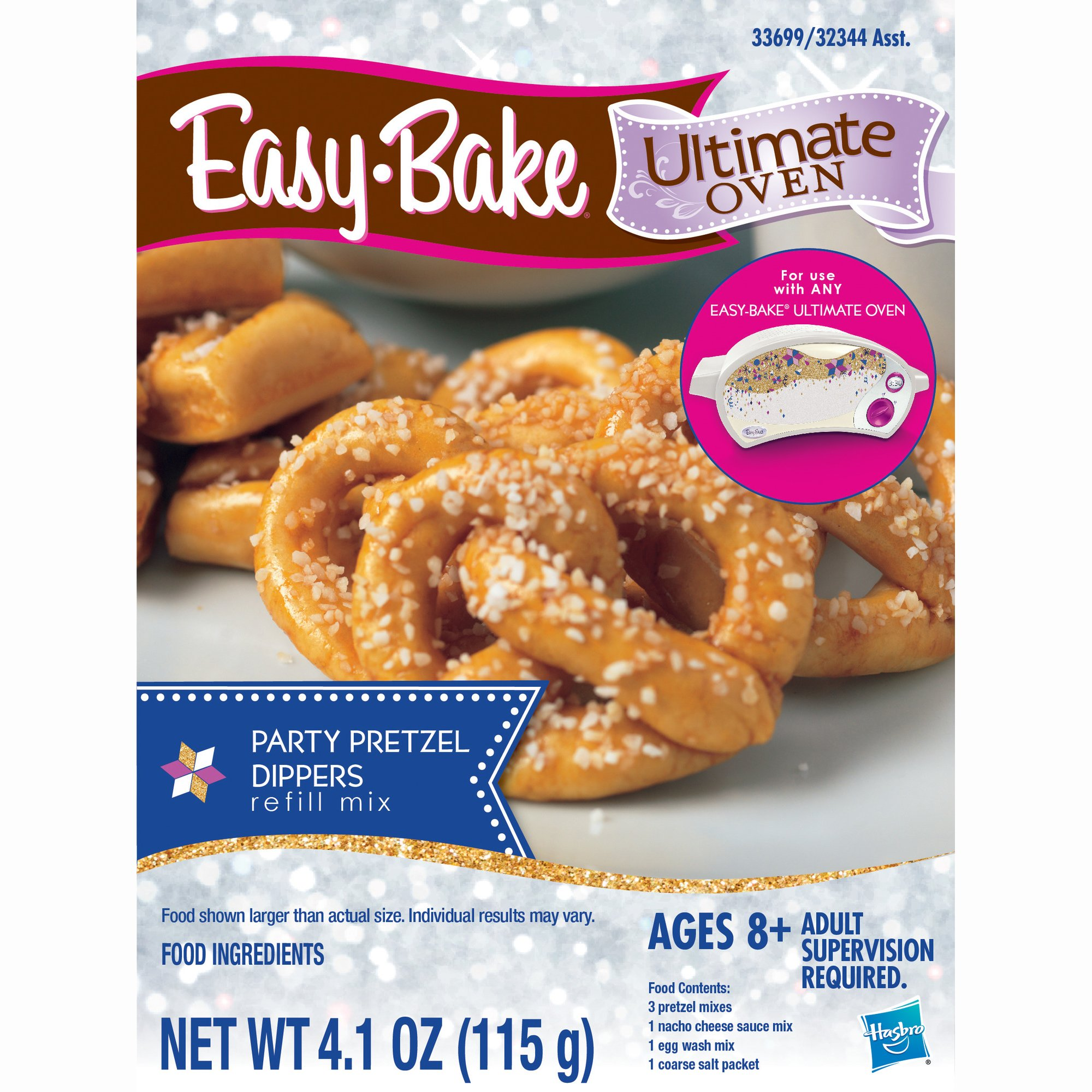 Easy-Bake Ultimate Oven Party Pretzels Refill Pack by Easy Bake