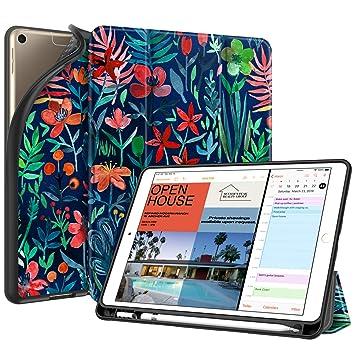 Amazon.com: Fintie - Funda con soporte para lápiz para iPad ...