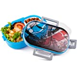 Lunch Box Sport Design Artic® - Lunchbox Leakproof Food Containers - Tupperware Ideal Bento Boxes Organizer For Your Fitness Diet Healthy Lifestyle