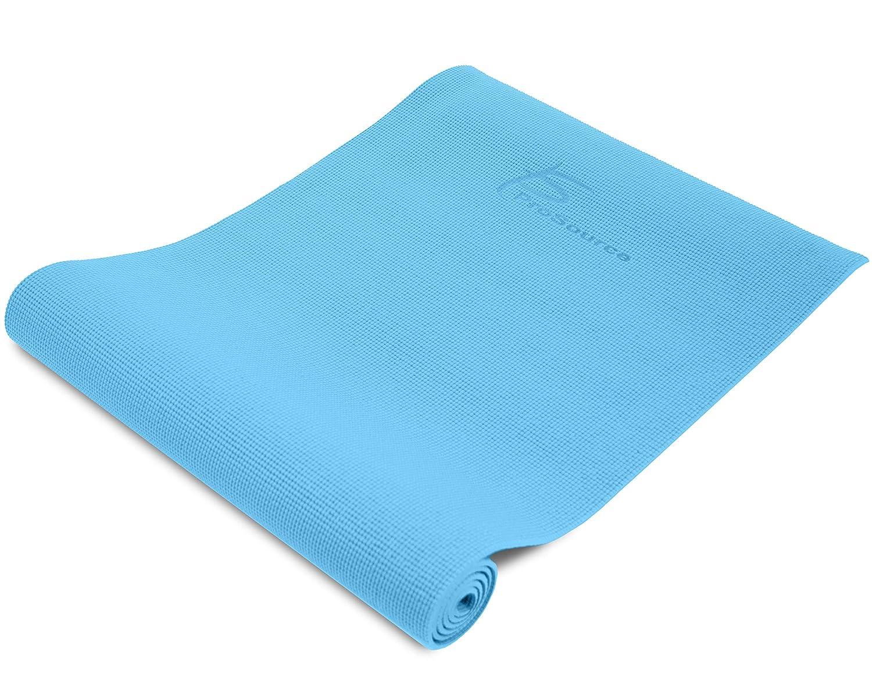 ProSource Premium High Density Yoga-Matte mit Komfort-PVC-Schaum und Tragegurten