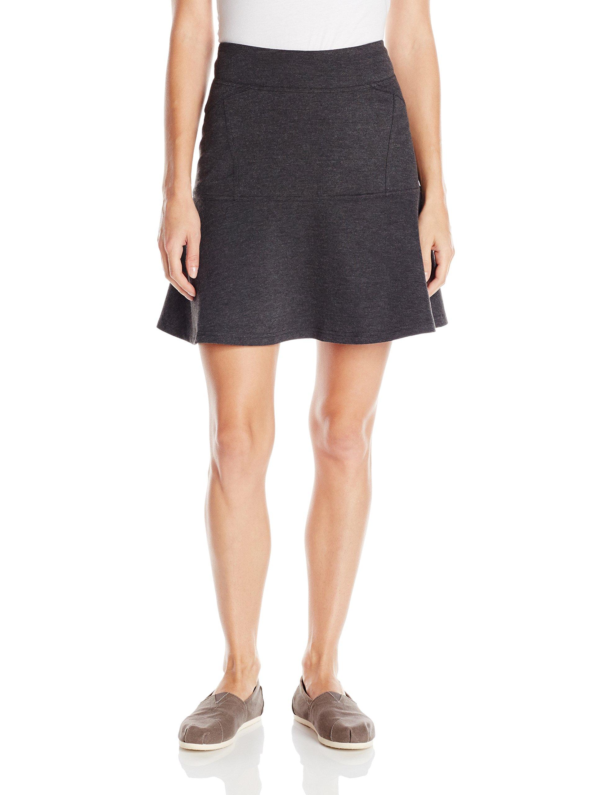 prAna Women's Gianna Skirt, X-Small, Charcoal by prAna