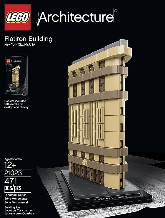 LEGO Architecture 6101026 Flatiron Building 21023 Building Kit by LEGO: Amazon.es: Juguetes y juegos