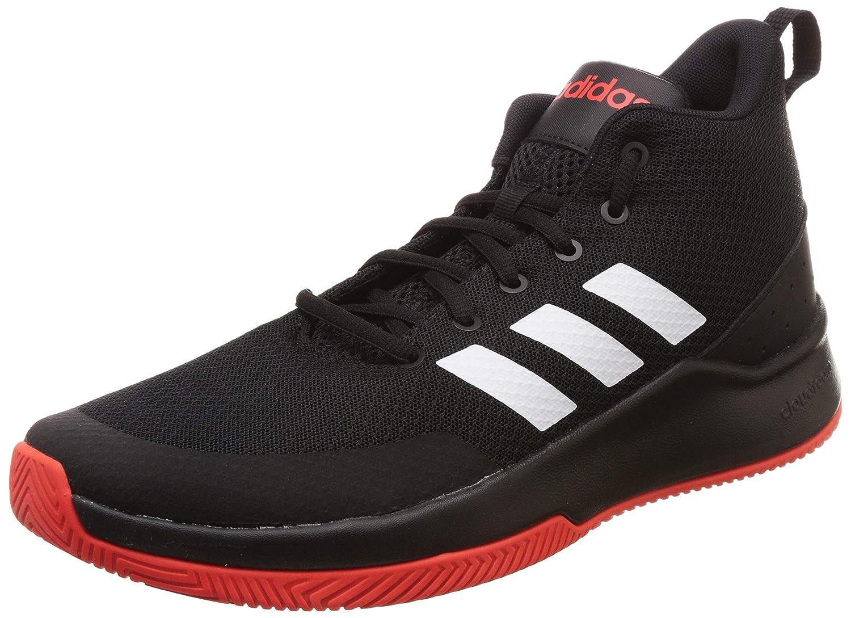 Mehrfarbig (MultiFarbe 000) adidas Herren Speedend2end Basketballschuhe, Schwarz Weißszlig;, Rot