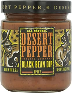 product image for Desert Pepper Trading Company, Spicy Black Bean Dip, 16 oz