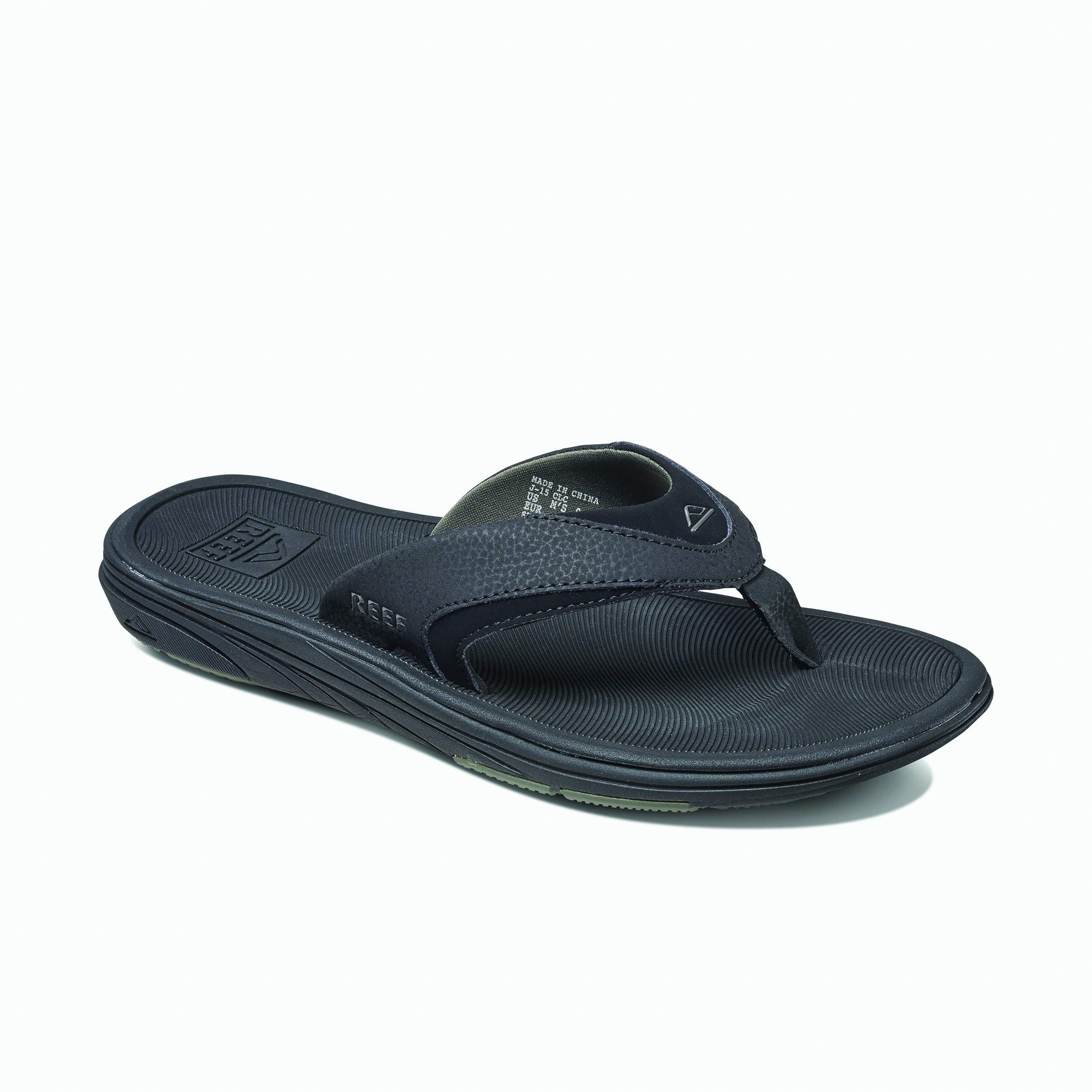 REEF Men's Sandals Modern, Black, 10 by REEF