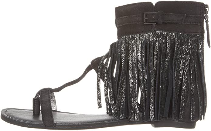 a28451f285c Amazon.com   Koolaburra Women's Venus II, Black 5 M US   Sandals