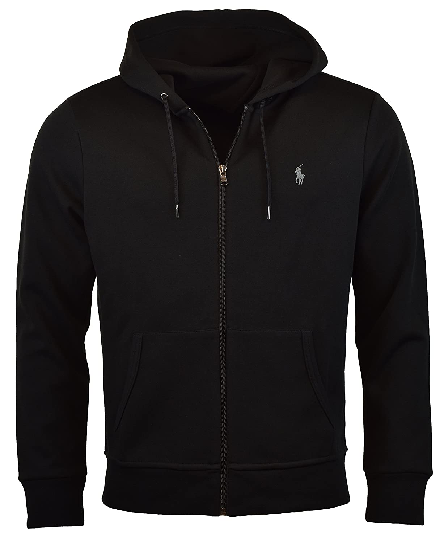 Polo Ralph Lauren Men s Double-Knit Full-Zip Hoodie at Amazon Men s  Clothing store  14f8749cfce
