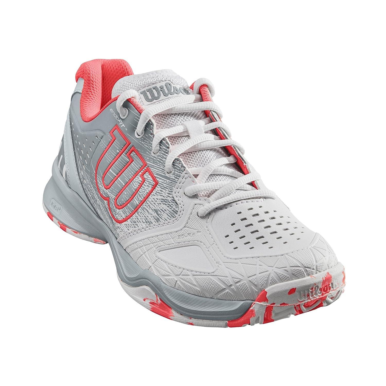 Wilson KAOS COMP W, Zapatillas tenis mujer, juego ofensivo, multiterreno, tejido/sintético tejido/sintético