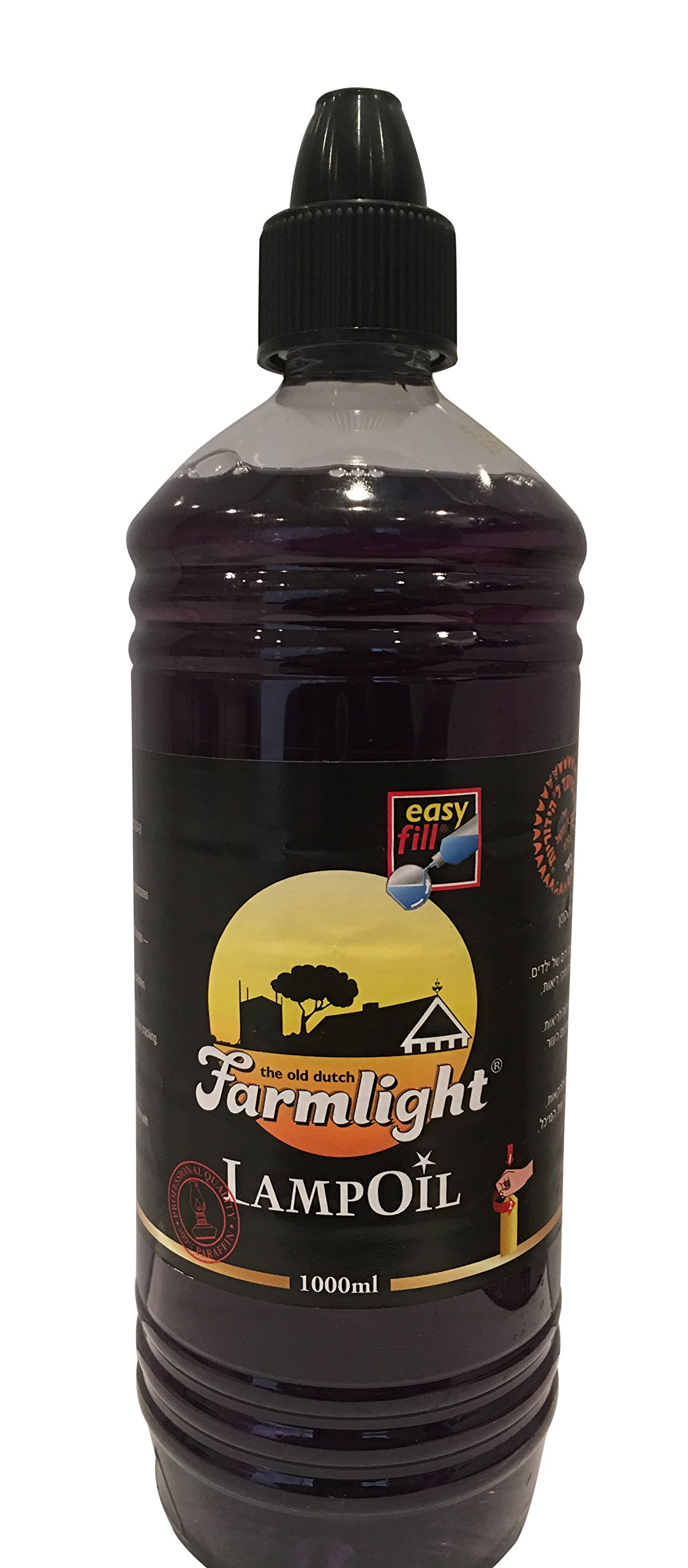 Bright Lights Paraffin Lamp Oil, 1 L, Purple