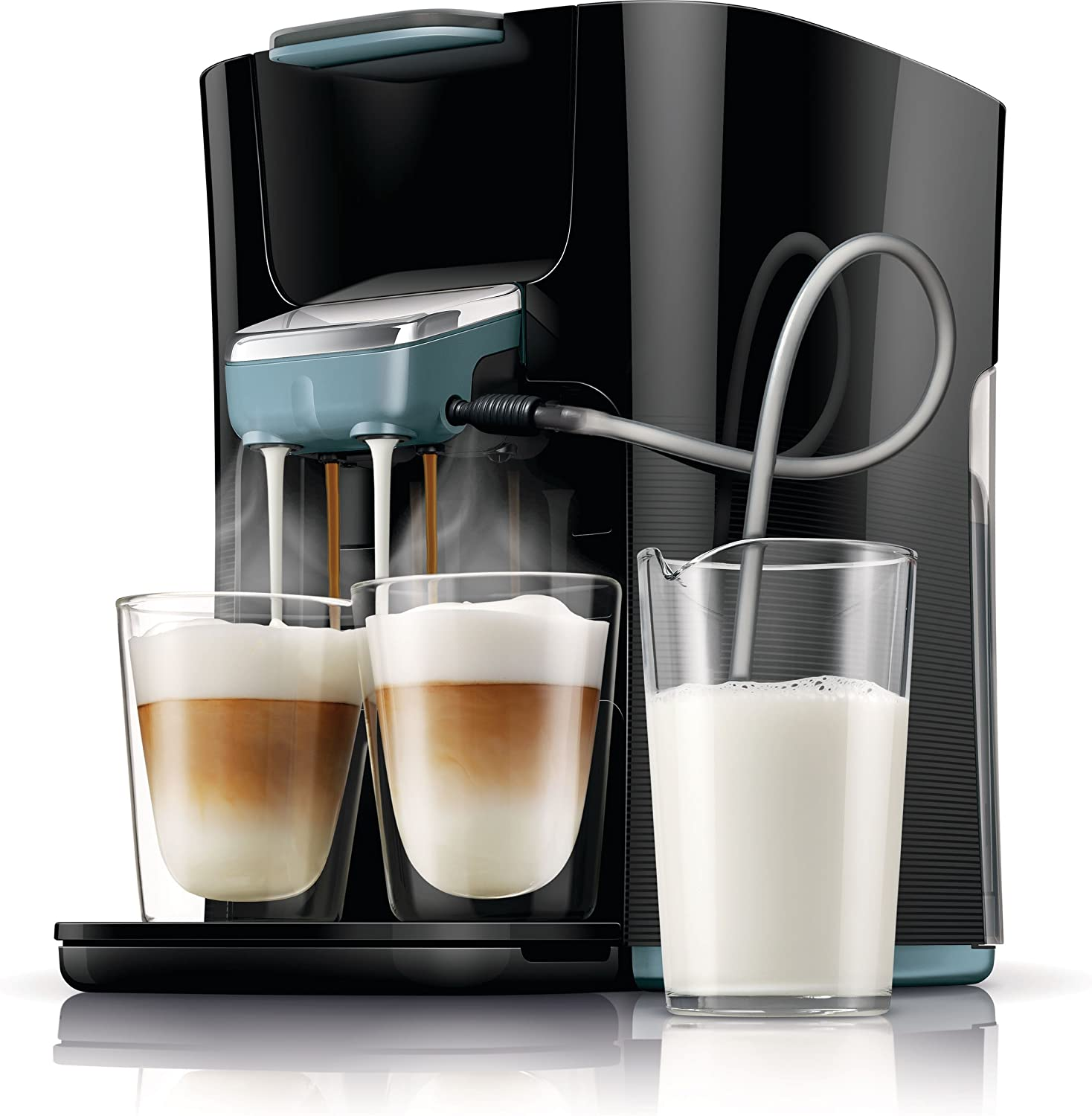 Senseo Latte Duo HD7855/60 - Cafetera (Independiente, Máquina de ...