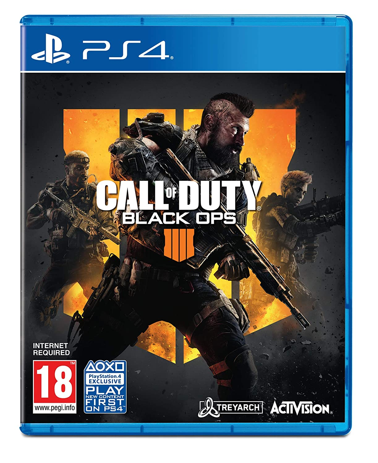f922bb190 Call of Duty: Black Ops 4 (Exclusive to Amazon.co.uk) (PS4): Amazon ...