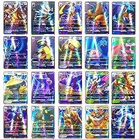 Kehyes Cartoon Game Card Set 200 stks Pokemon Kaarten GX Trading Kaarten Mega Pokemon Kaarten voor Kaarten Verzamelen