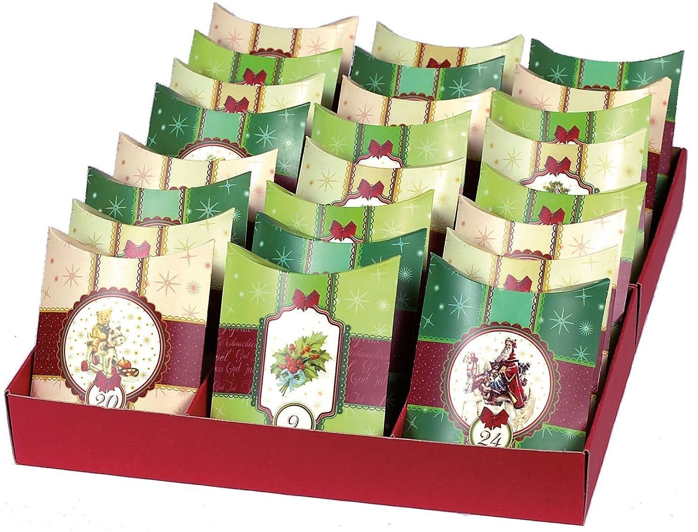 24 Adventskissen: zum Befüllen Roth R80307 Weihnachten Adventskalender