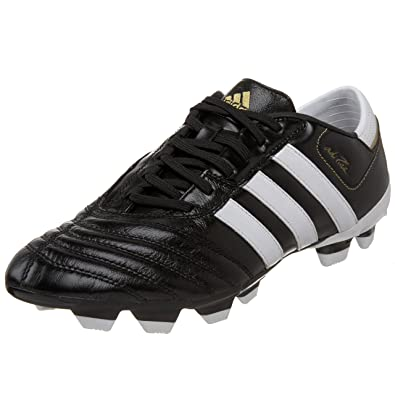 wholesale dealer b72a2 c86fd Adidas Men s Adipure III TRX FG Soccer Cleat,Black White Gold (UCL