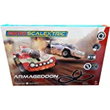 Scalextric COS259067 Micro Armageddon Rampage, RED