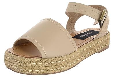 84c3aa342a6c0 Smitten Women's Golden PU Flatform Shoes - 4 UK: Buy Online at Low ...