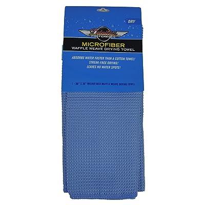 Eurow Microfiber Waffle Weave Giant Drying Towel 36 X 36 in (9 SqFt): Automotive