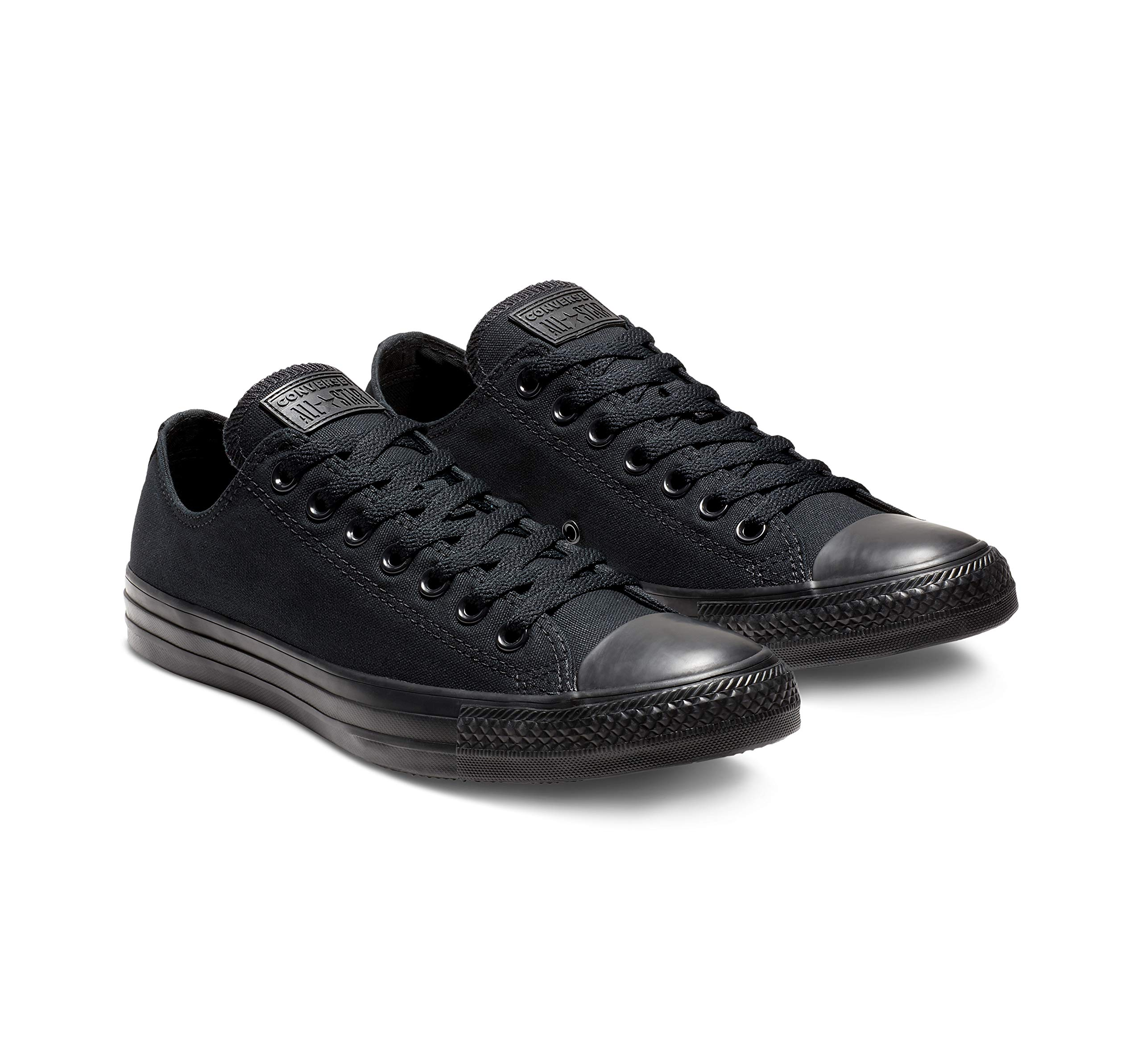 Converse Unisex Chuck Taylor All Star Low Top Black Monochrome Sneakers - 9 D(M) US by Converse (Image #5)