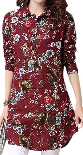 confit you - Camisas - Floral - Opaco - para mujer
