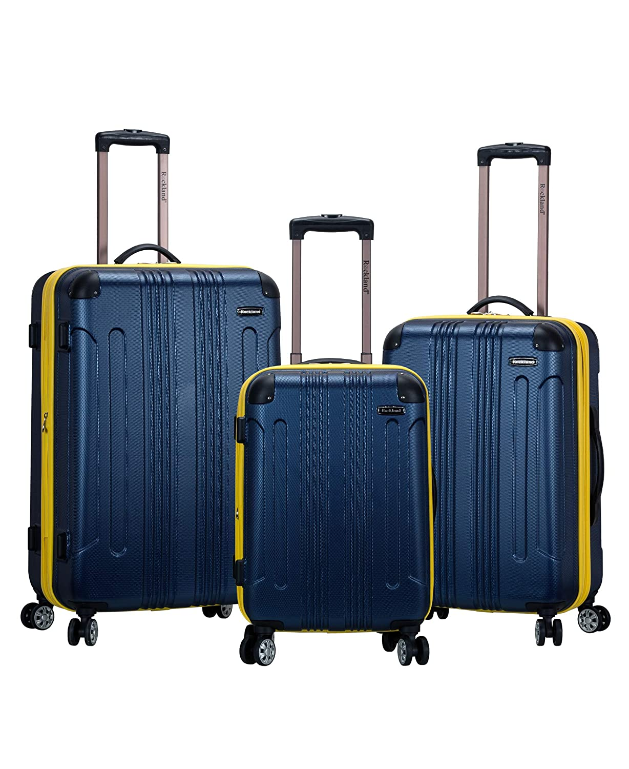 Rockland, Set di valigie Adulti, Blue (Blu) - F190-BLUE Fox Luggage
