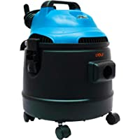 Aspiradora potente con capacidad 20 litros, para superficies seco/mojado con manguera reforzada y extra larga, potencia 1200 W REALES, presión 17Kpa
