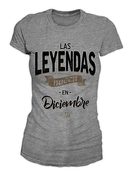 RiotBunny Las Leyendas Nacen en Diciembre Camiseta de ...