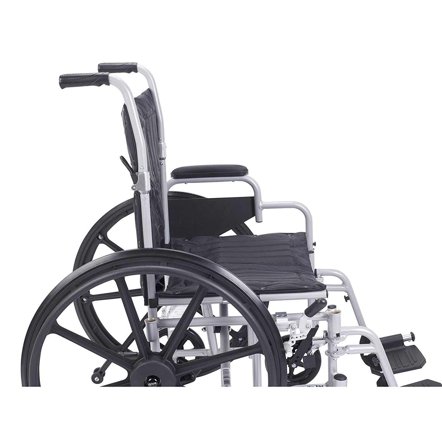 Amazon Drive Medical Poly Fly Light Weight Transport Chair