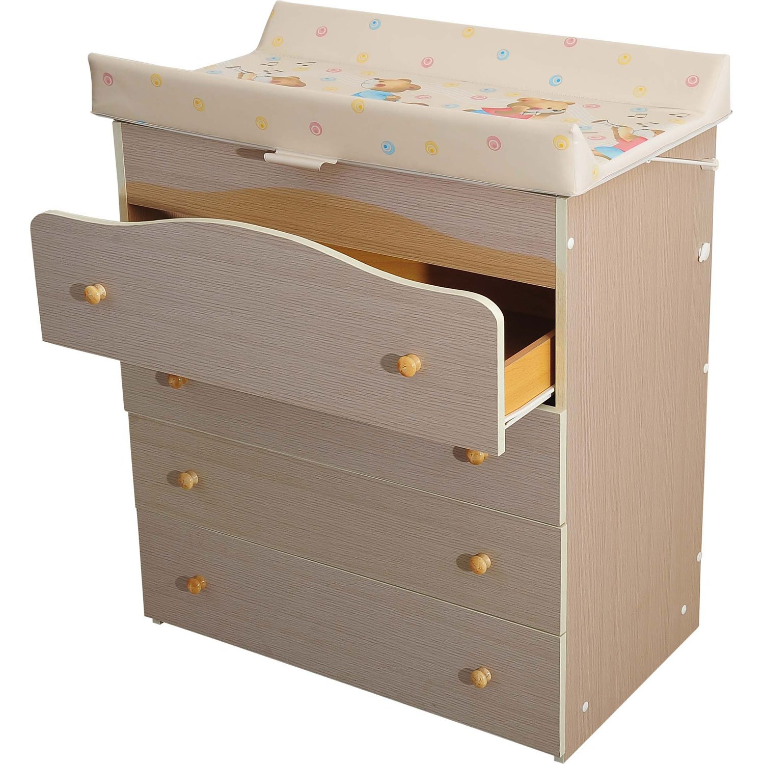 NEW Baby Changing Table Unit Changing Station Dressing Table Drawers And  Bath With Tub: Amazon.co.uk: Baby