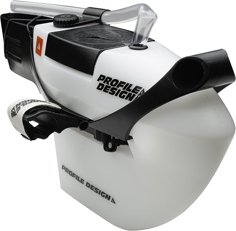 Profile Design FC35 Aero Hydration System for Triathlon TT White with Bite Valve